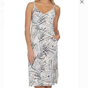 1. State Palm Leaf Print Sheath Dress